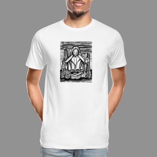 Wolfman Originals Black & White 11 - Men's Premium Organic T-Shirt