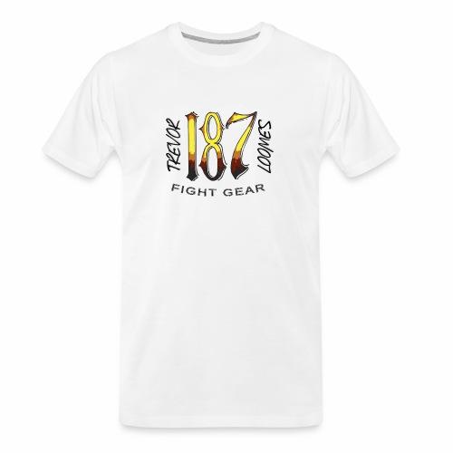 Coloured Trevor Loomes 187 Fight Gear Logo - Men's Premium Organic T-Shirt
