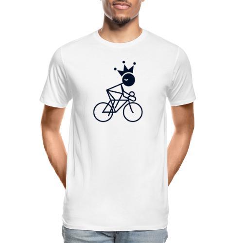 Winky Cycling King - Men's Premium Organic T-Shirt