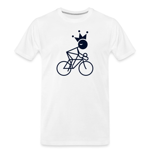 Winky Cycling King - Men's Premium Organic T-Shirt