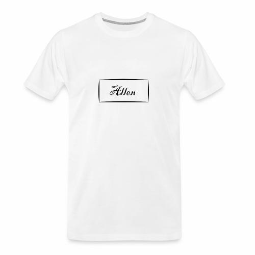 Allen - Men's Premium Organic T-Shirt