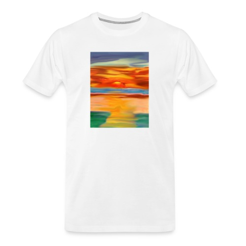 sketch 1527086621355 here comes the sun - Men's Premium Organic T-Shirt