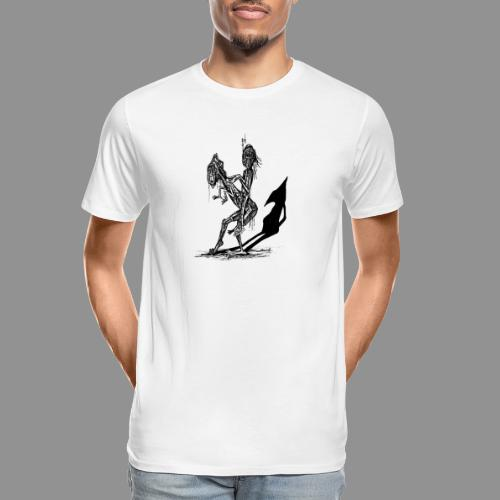 Wolfman Originals Black & White 18 - Men's Premium Organic T-Shirt