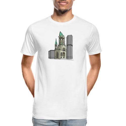 Memorial Church Berlin - Men's Premium Organic T-Shirt