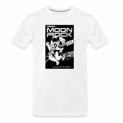 MOONROCK, One Giant Leap for Laserium - Men's Premium Organic T-Shirt