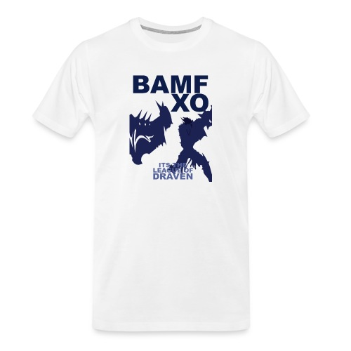 DRAV copy png - Men's Premium Organic T-Shirt