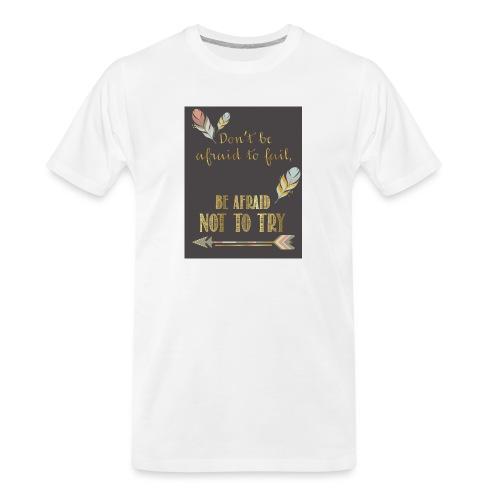 Follow dreams - Men's Premium Organic T-Shirt
