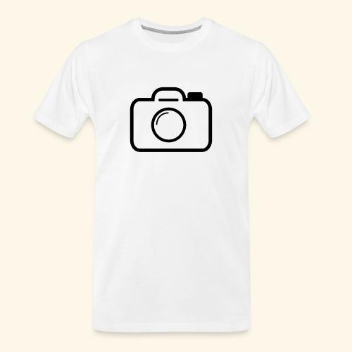 Camera - Men's Premium Organic T-Shirt