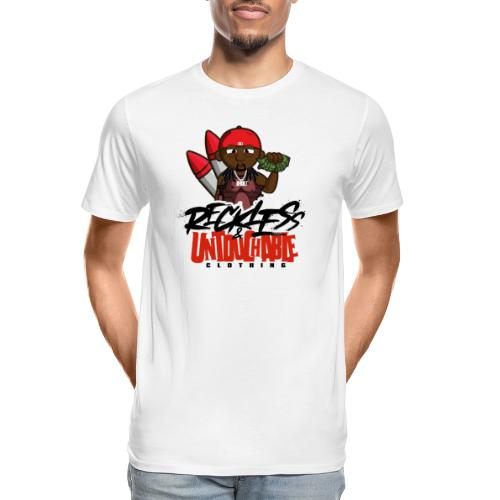 Reckless and Untouchable_1 - Men's Premium Organic T-Shirt