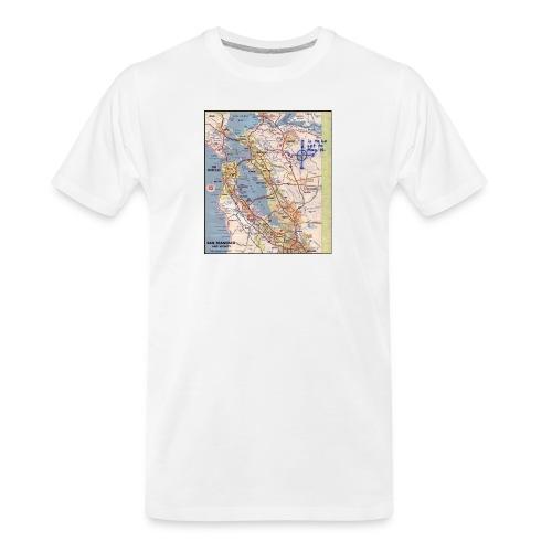 Phillips 66 Zodiac Killer Map June 26 - Men's Premium Organic T-Shirt