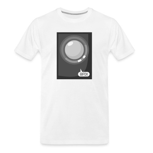 Announcer Tablet Case - Men's Premium Organic T-Shirt