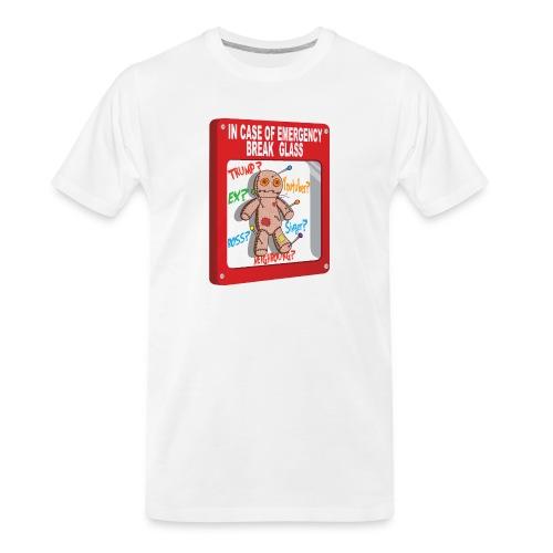 In case of emergency Voodoo Puppet - Men's Premium Organic T-Shirt