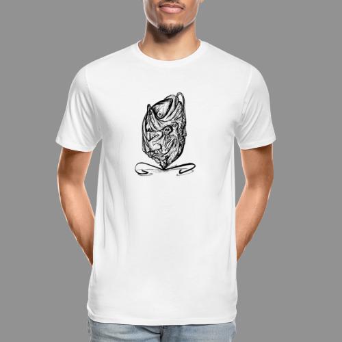 Wolfman Originals Black & White 12 - Men's Premium Organic T-Shirt
