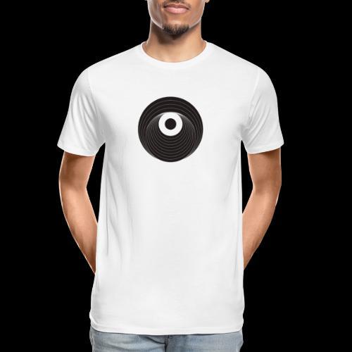 Black Dirt Vortex Logo Dark - Men's Premium Organic T-Shirt