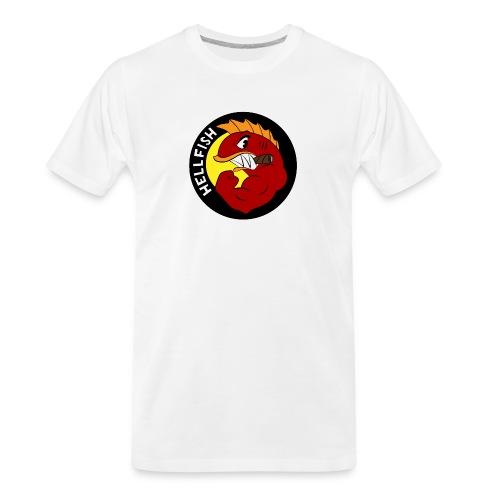 Hellfish - Flying Hellfish - Men's Premium Organic T-Shirt