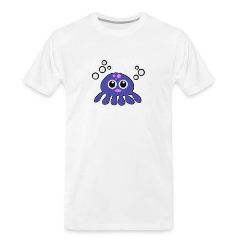 Blue Octopus - Men's Premium Organic T-Shirt
