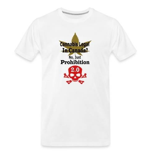 prohibition - Men's Premium Organic T-Shirt