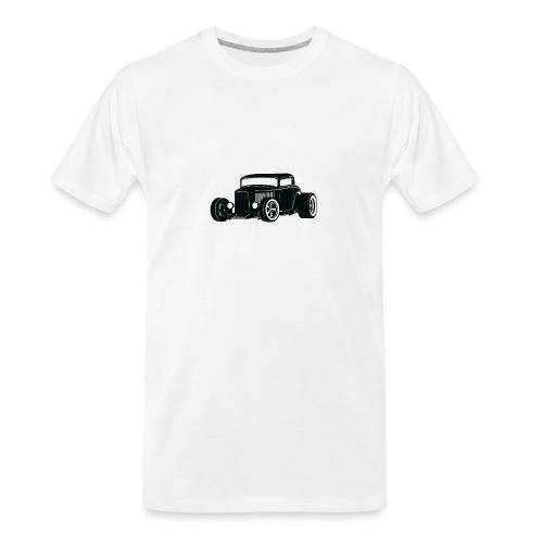 Classic American Hot Rod - Men's Premium Organic T-Shirt