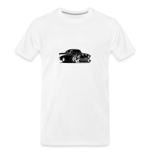 Classic American Hot Rod Car - Men's Premium Organic T-Shirt