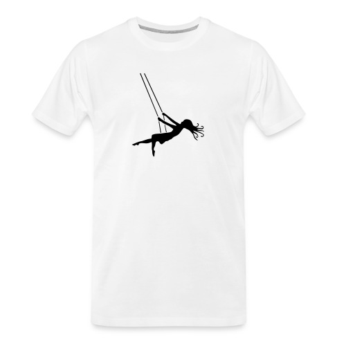 Swinging Girl - Men's Premium Organic T-Shirt
