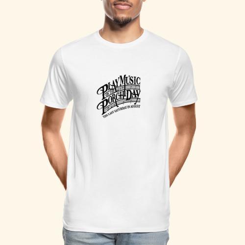 shirt3 FINAL - Men's Premium Organic T-Shirt