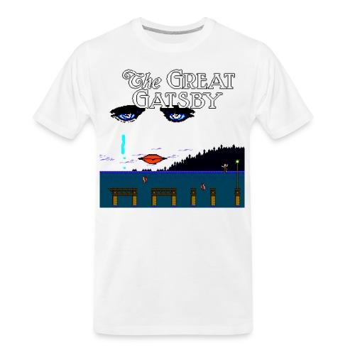 Great Gatsby Game Tri-blend Vintage Tee - Men's Premium Organic T-Shirt