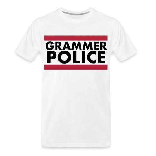 Grammer Police - Men's Premium Organic T-Shirt