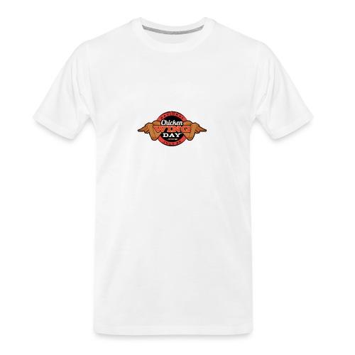 Chicken Wing Day - Men's Premium Organic T-Shirt