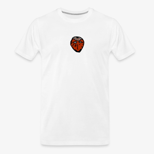 Scratched Mask MK I - Men's Premium Organic T-Shirt