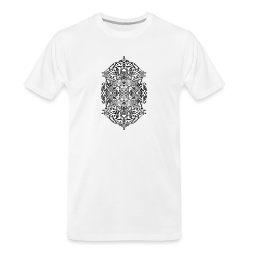 Eternal Voyage 4 - B&W - Men's Premium Organic T-Shirt