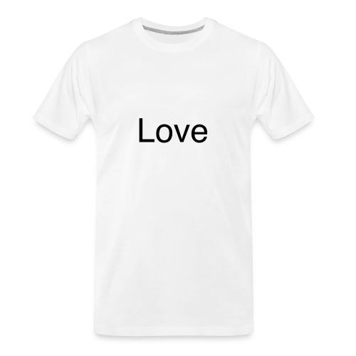 Love - Men's Premium Organic T-Shirt
