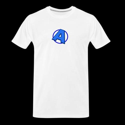 Awesomegamer Logo - Men's Premium Organic T-Shirt