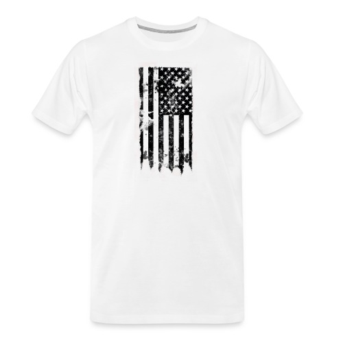 we the people no txt.png - Men's Premium Organic T-Shirt
