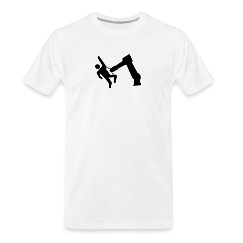 Robot Wins! - Men's Premium Organic T-Shirt