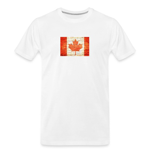 Canada flag - Men's Premium Organic T-Shirt