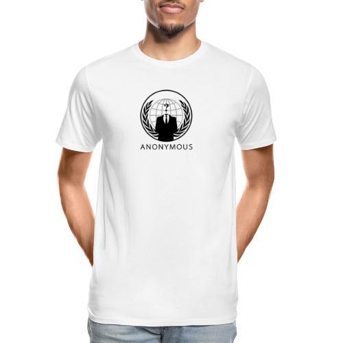 Anonymous 1 - Black - Men's Premium Organic T-Shirt