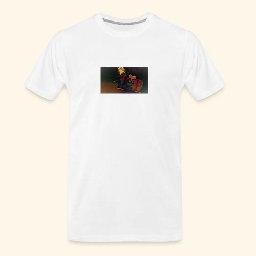 (roblox logo) - Men's Premium Organic T-Shirt