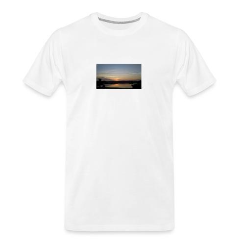 Sunset on the Water - Men's Premium Organic T-Shirt