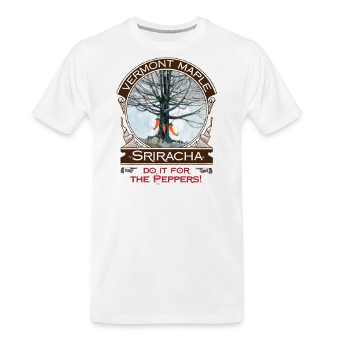 Vermont Maple Sriracha - Men's Premium Organic T-Shirt