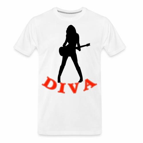 Rock Star Diva - Men's Premium Organic T-Shirt