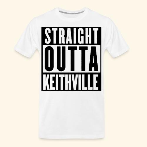 STRAIGHT OUTTA KEITHVILLE - Men's Premium Organic T-Shirt