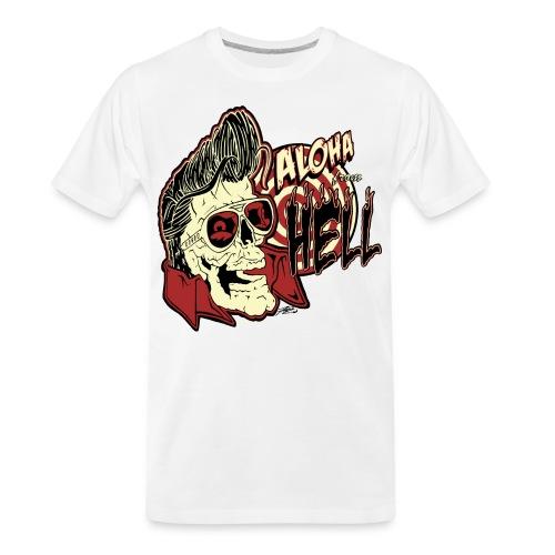 Aloha From Hell - Men's Premium Organic T-Shirt