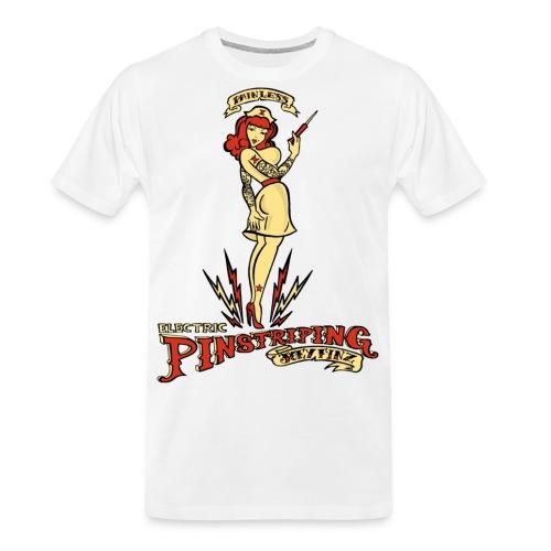 Painless Electric Pinstriping - Men's Premium Organic T-Shirt