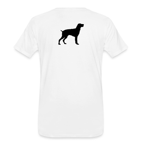 German Wirehaired Pointer - Men's Premium Organic T-Shirt