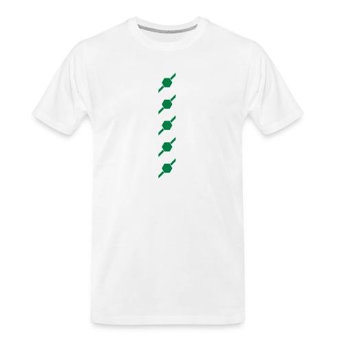 fivehex vector - Men's Premium Organic T-Shirt