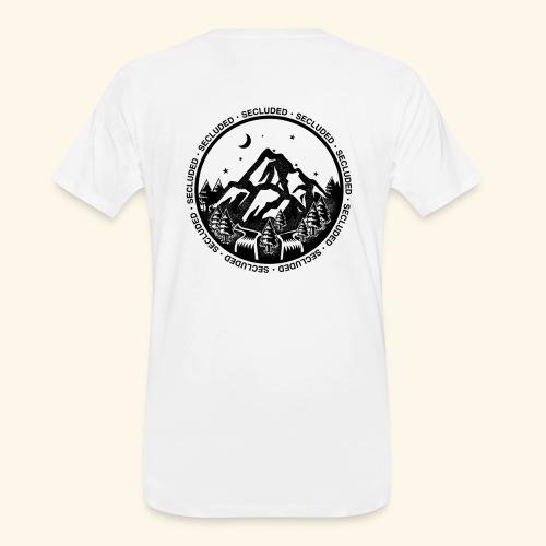 Bellingen Mountain Ranges - Men's Premium Organic T-Shirt