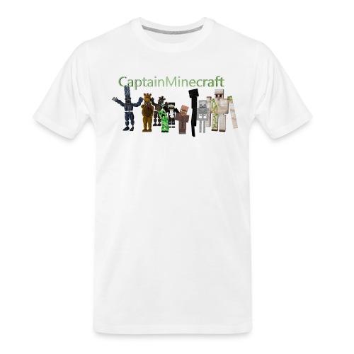 CaptainMinecraft - Men's Premium Organic T-Shirt