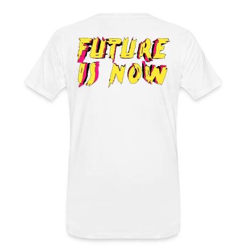 future is now - Men's Premium Organic T-Shirt