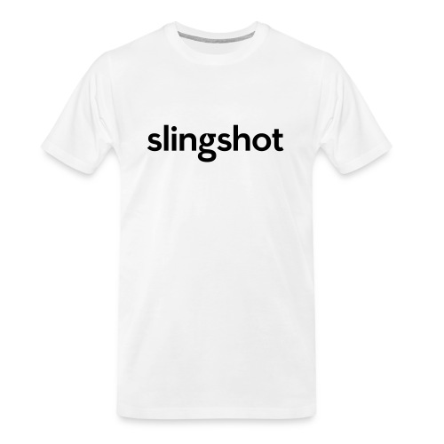 SlingShot Logo - Men's Premium Organic T-Shirt