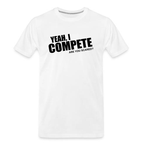 compete - Men's Premium Organic T-Shirt